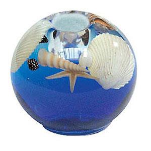 Подсвечник-шар «Море» Vikart