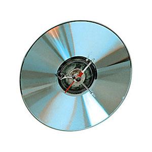 Часы в виде CD