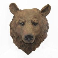 Декоративная садовая фигура Голова медведя