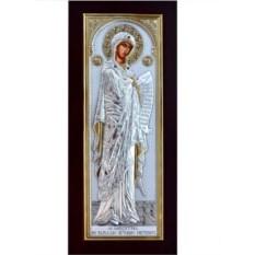 Серебряная икона Божьей Матери Заступница Меситрия
