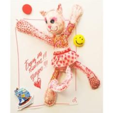 Набор для изготовления текстильной игрушки Кошечка