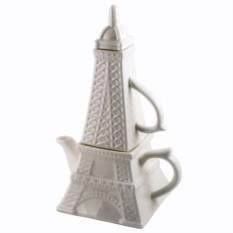 Чайный набор кружка и чайник Эйфелева башня