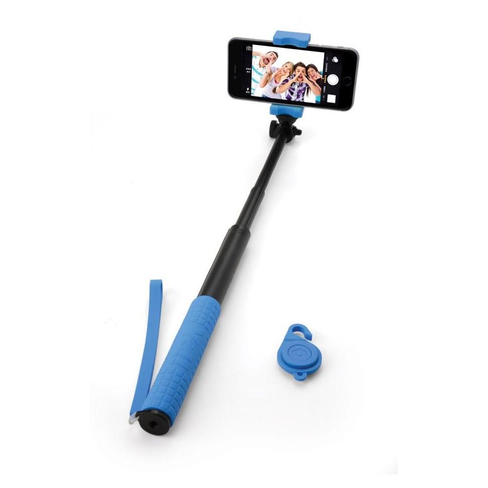Селфи-монопод, пульт Bluetooth и Power Bank 2800 mAh Blue