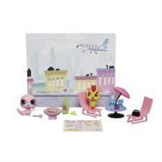 Стильный тематический игровой набор Hasbro Littlest Pet Shop