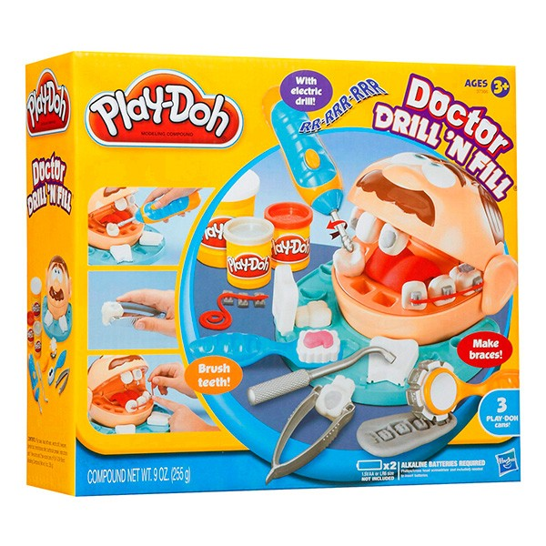 Набор для творчества Play-Doh Мистер Зубастик