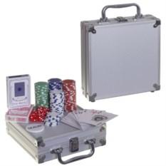 Настольная игра в металлическом кейсе Покер