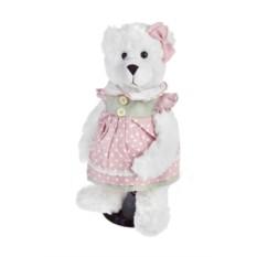 Мягконабивная игрушка Мишка в летнем платье