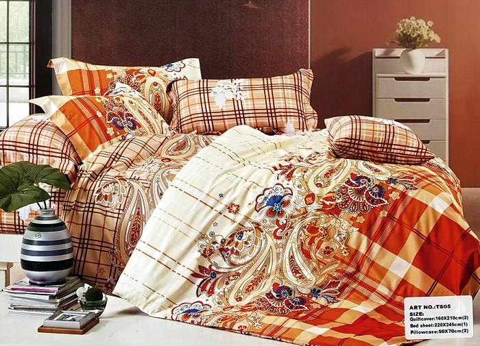 Комплект постельного белья Танго Коричневый