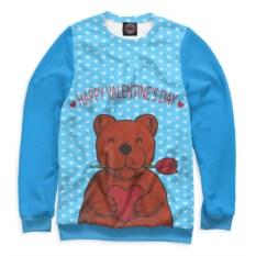 Свитшот Медвежонок с сердечком
