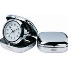 Складные часы-будильник в бархатном чехле Pisa