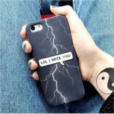 Чехол для IPhone I hate you