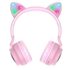Наушники Bluetooth Hoco W27 Cat Ear с микрофоном