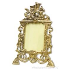 Рамка для фотографий Ангелы (цвет: золото)