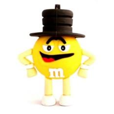 Флешка M&M`s (желтый)