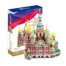 3D пазлы Cubic Fun Собор Воскресения Христова (Россия)