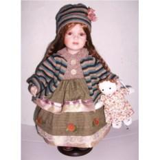 Фарфоровая кукла Ванесса
