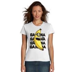 Женская футболка Бананы
