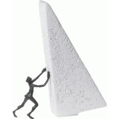 Интерьерная скульптура «Сдвину горы»