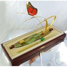 Визитница с ручкой «Бабочка»
