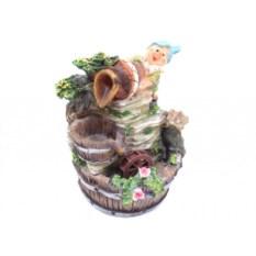 Декоративный фонтан Гном с кувшином