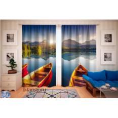 Фотошторы Горное озеро в Словакии