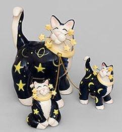 Фигурка Семья кошек