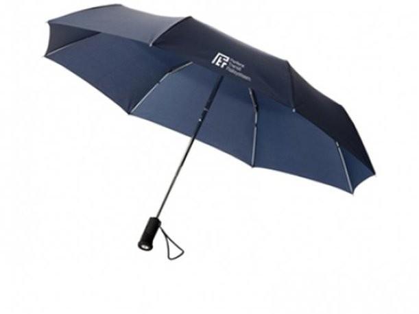 Механический складной зонт
