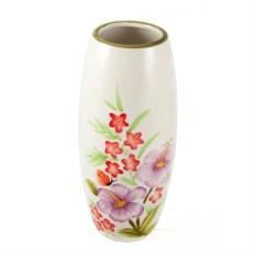 Керамическая ваза Цветочный этюд