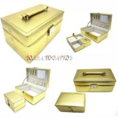 Золотая шкатулка для ювелирных украшений Valise