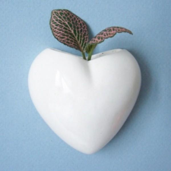 Сердце-магнит, белое
