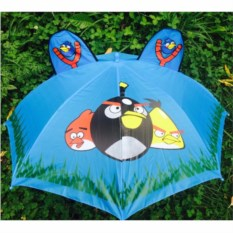 Детский зонт с ушками Angry Birds