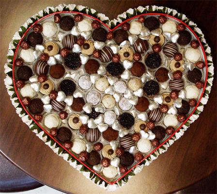Шоколадный набор «Big Heart»