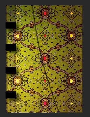 Записная книга от Paperblanks Зелень