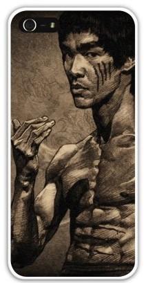 Чехол-накладка для iphone 5/5S, Брюс Ли