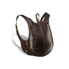 Коричневый кожаный рюкзак Brialdi Scorpion
