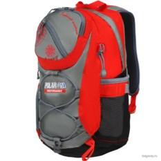Красно-серый рюкзак Polar School