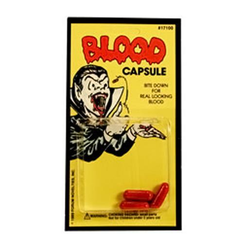 Капсулы с кровью