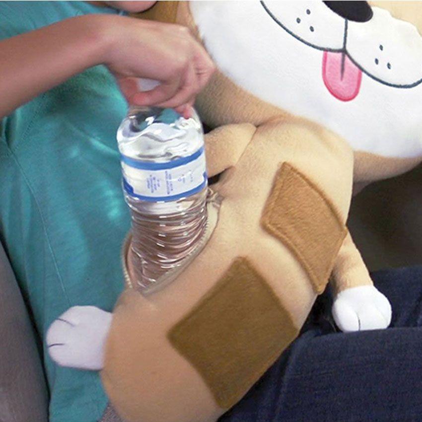 Игрушка-подушка на ремень безопасности Веселый щенок