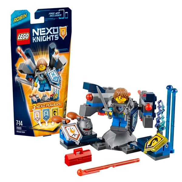 Конструктор Lego Nexo Knights Робин – Абсолютная сила