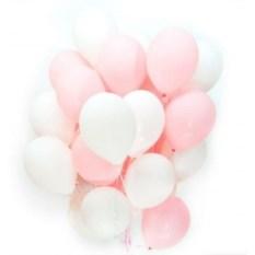 Букет шаров Розовый зефир