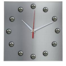 Настенные часы Стройка