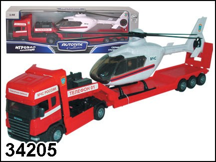 Пожарная машина Scania Transport