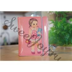 Держатель для карточек Paper Doll (Розовый)