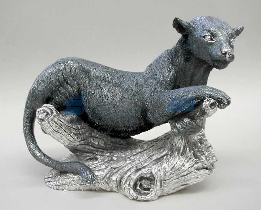 Скульптура Леопард на ветке