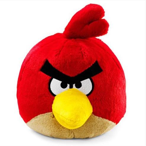 Игрушка Птичка красная