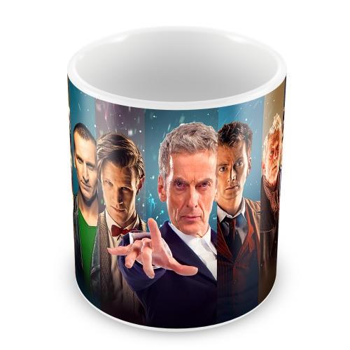 Кружка 12 Докторов Кто