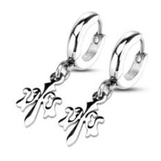 Серьга-кольцо SPIKES
