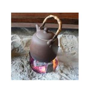 Варка чая на живом огне