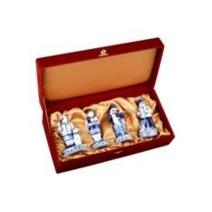 Подарочный набор железнодорожнику из гжели