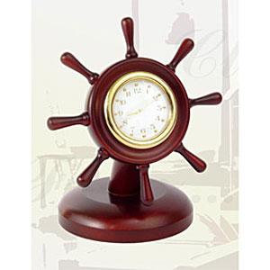 Часы настольные «Штурвал»